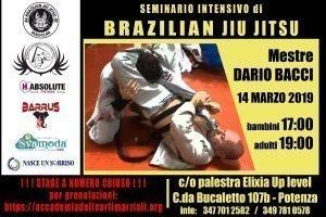 Dario Bacci Seminario BJJ Potenza 2019