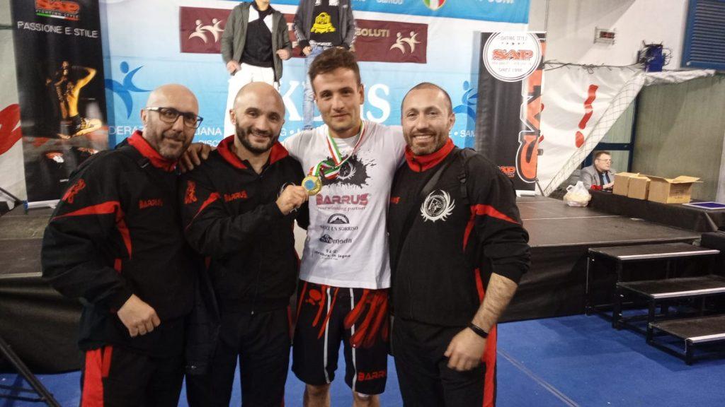 Donatello Angerame - Campione Italiano FIKBMS