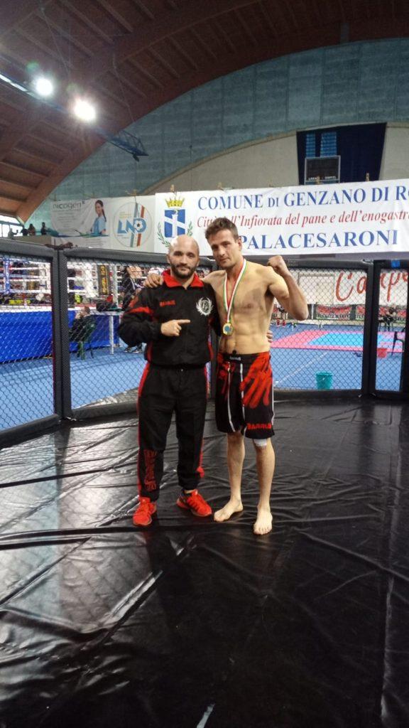 Donatello Angerame Kickjitsu Campione Italiano - FIKBMS