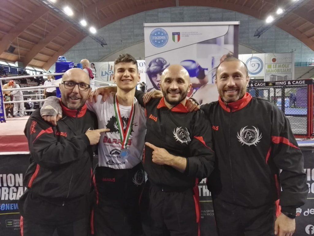 Giuliano Marzano - Vice Campione Nazionale FIKBMS - Contatto Pieno Prima serie