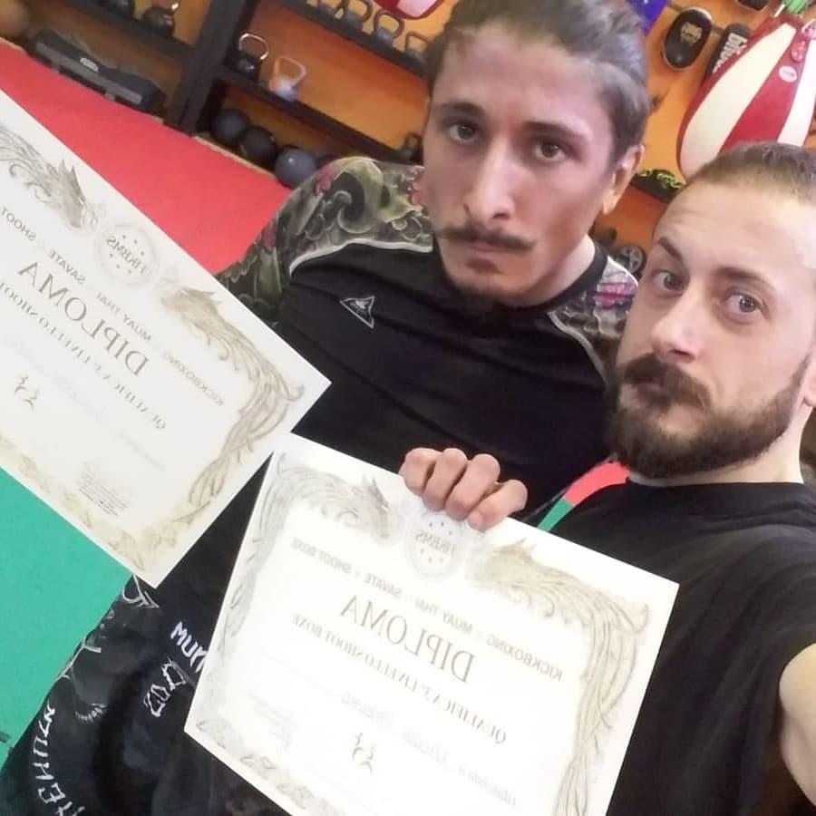Giuseppe Liuzzi - Nicola Palermo - kickjitsu - shootboxe - FIKBMS