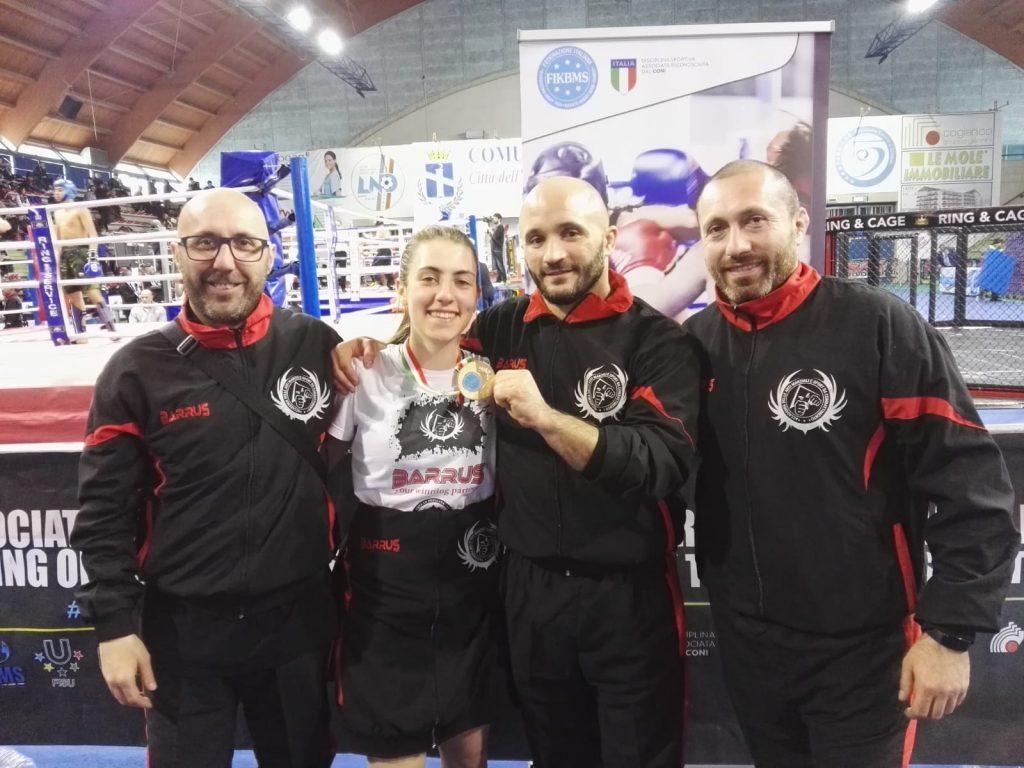 Nives Aiello Blasi Campionessa Nazionale FIKBMS