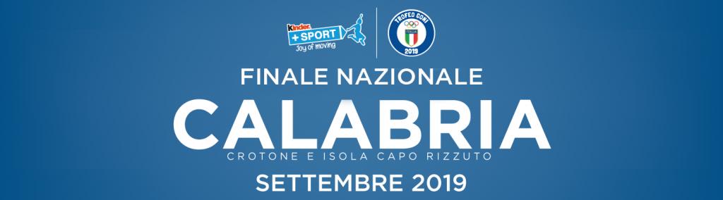 Trofeo Coni Kinder+ Sport 2019