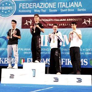 Carmine Rutigliano - Campione Italiano Kikcboxing FIKBMS
