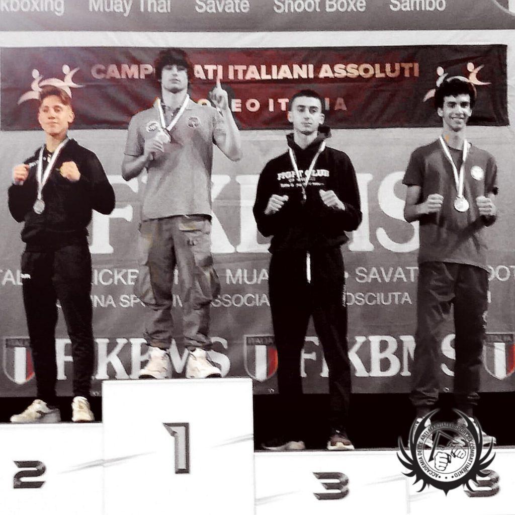 Carmine Rutigliano - Argento Campionati Italiani Kick Light