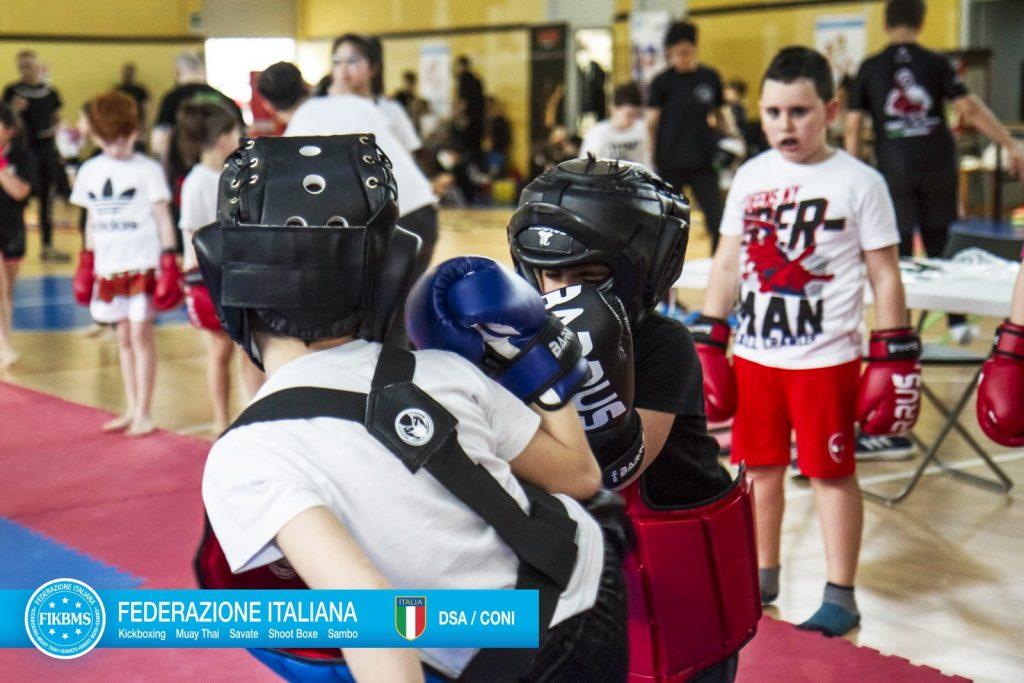 Kickboxing For Kids - Trofeo Coni Kinder+ Sport 2019 - FIKBMS