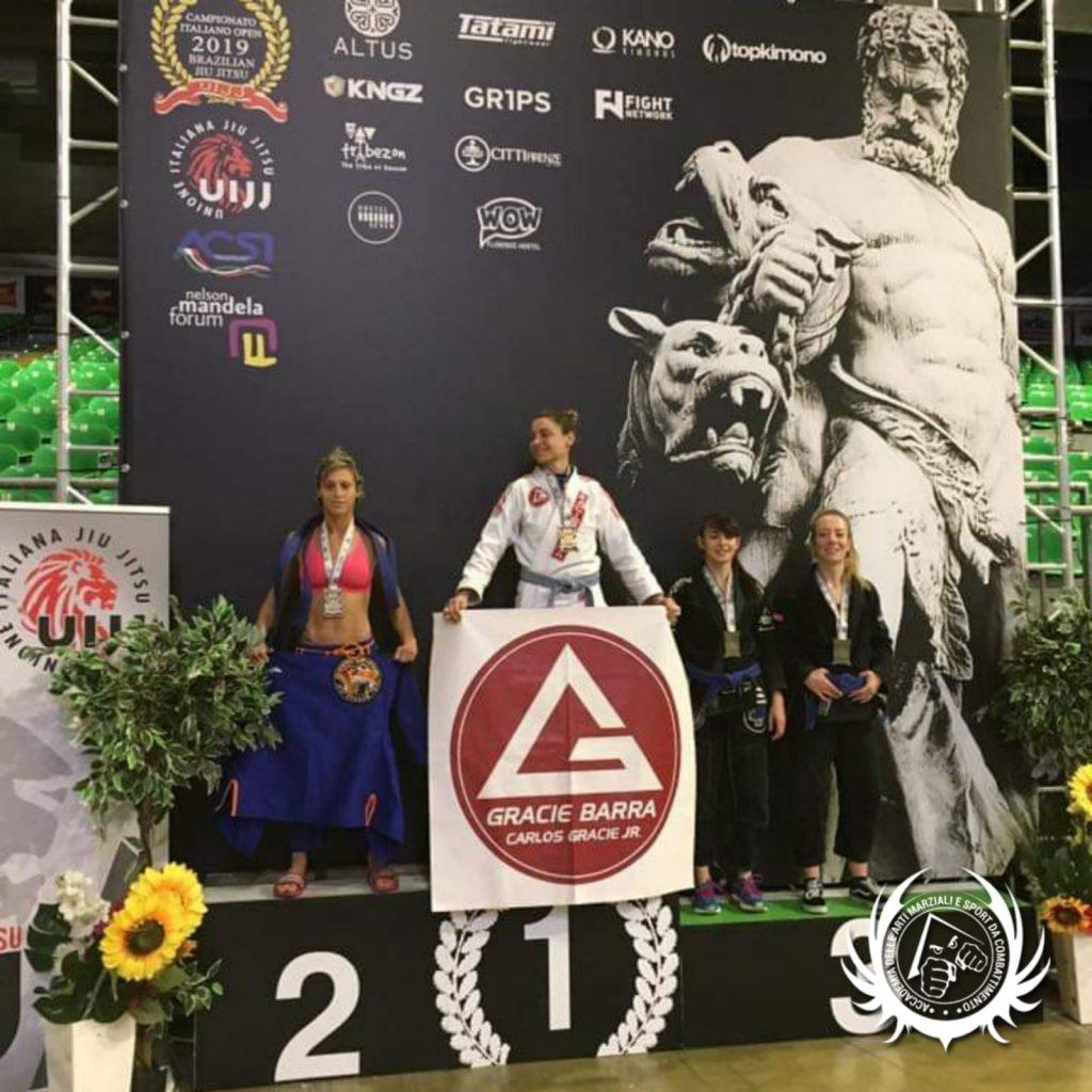 Alessia Podano - Bronzo - GI - Campionati Italiani BJJ 2019