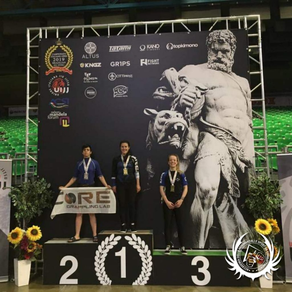 Alessia Podano - Bronzo - Campionati Italiani BJJ 2019