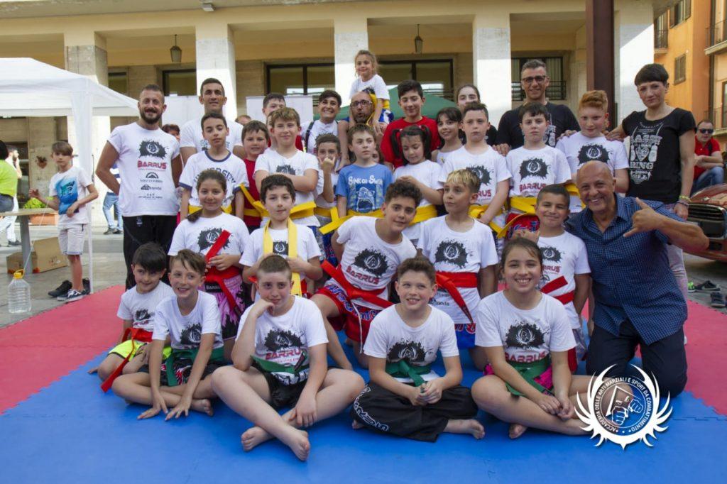 Kickboxing Potenza - esame di cintura 2019