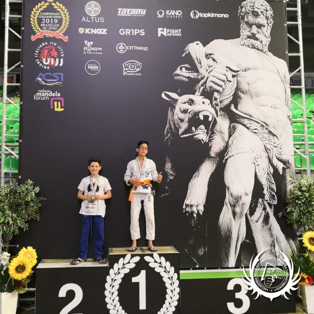 Emanuele Colella - argento - Campionati Italiani BJJ - Firenze 2019
