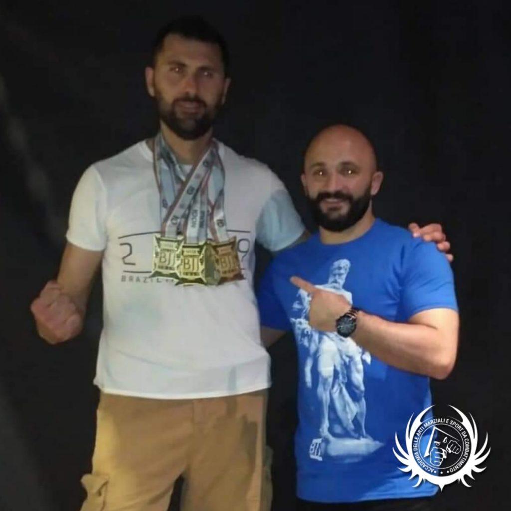 Gabriele Albano - Oro - Campionati Italiani BJJ - Firenze 2019