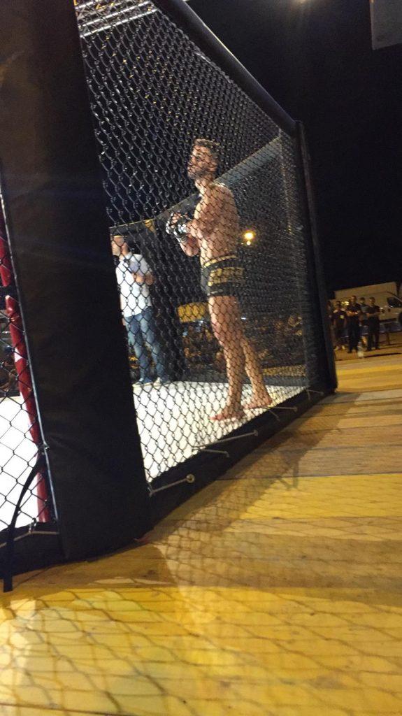 Domenico Colucci in gabbia - MMA