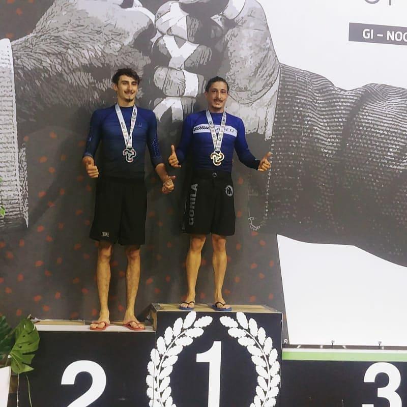 Giuseppe Liuzzi - oro Sicilia Open in categoria -67,5 kg no-gi