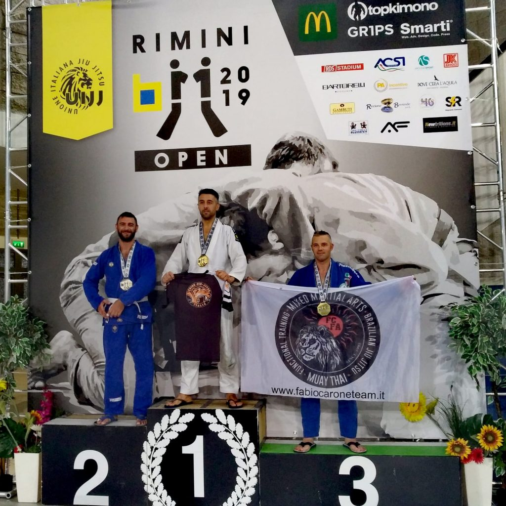 Lorenzo Amato - Argento Rimini Open 2019