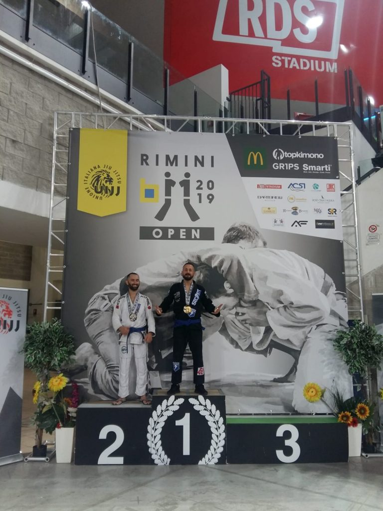 Nicola Palermo - argento al Rimini Open 2019