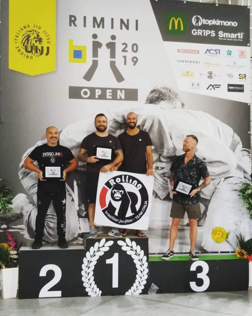 Rimini Open - Miglior team 2019