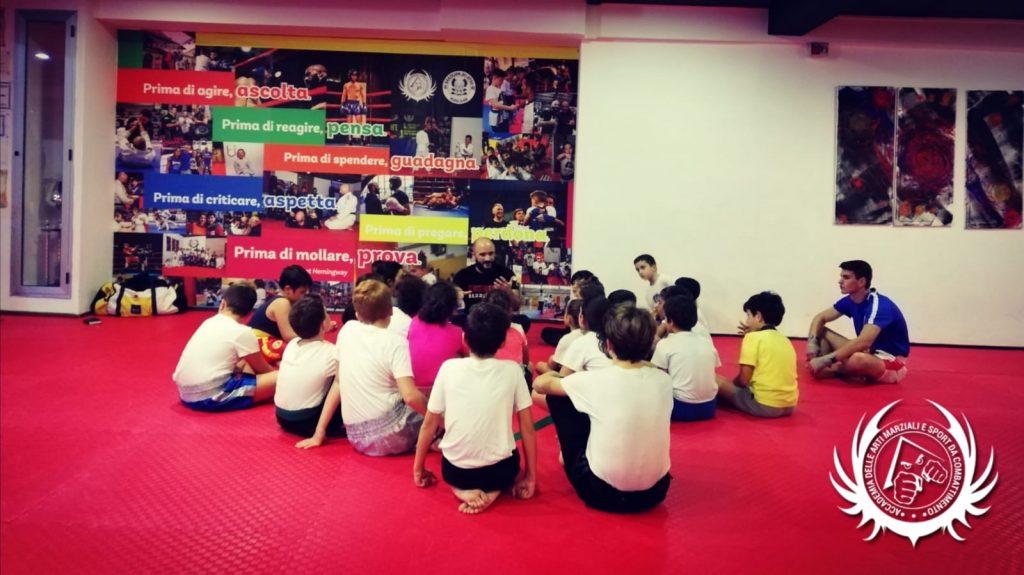 Bambini e arti marziali