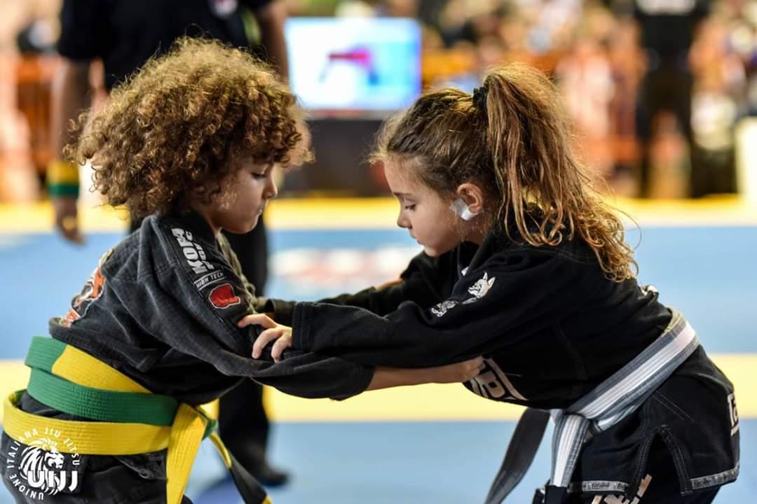 i bambini e il brazilian jiu jitsu