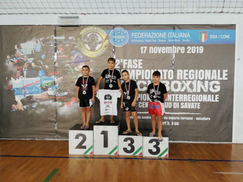 Crisitiano Chiriac Buccur Kickboxing - Campione Regionale FIKBMS