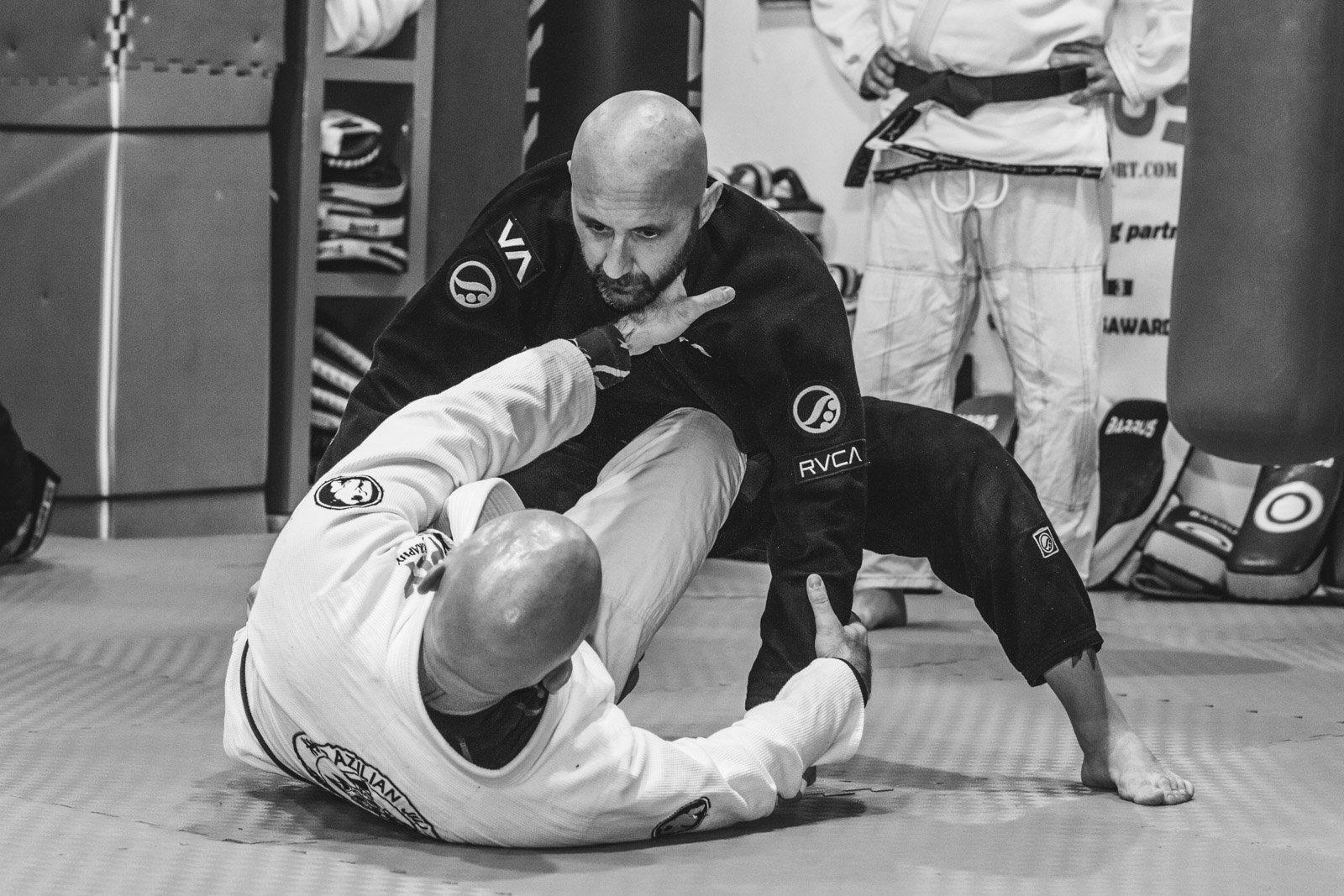 Dario Bacci & Bartolo Telesca - Jiu Jitsu Brasiliano