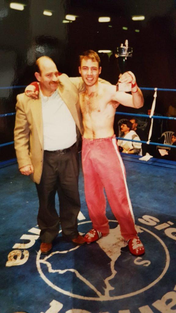 Giuseppe Lorusso - volti marziali - campione di kickboxing