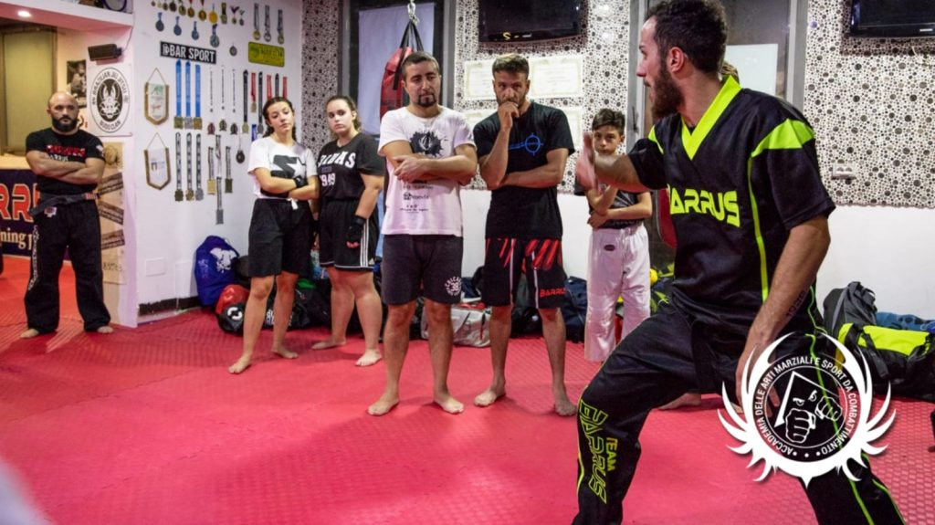 Giuseppe Angiolillo - Team Barrus - Point fighting