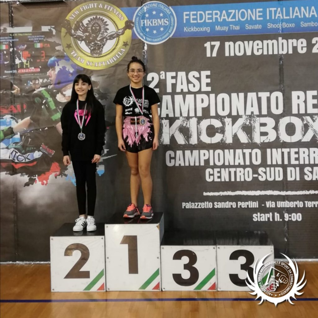 Viola Monaco - Kickboxing - Campionato Regionale FIKBMS 2019 Puglia e Basilicata